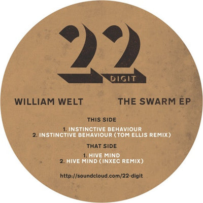 "William Welt - Swarm EP (Marbled Vinyl 12"") - Unearthed Sounds"