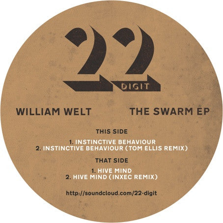"William Welt - Swarm EP (Marbled Vinyl 12"")"