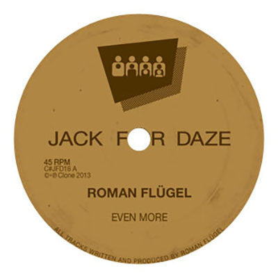 Roman Flugel - Even More - Unearthed Sounds
