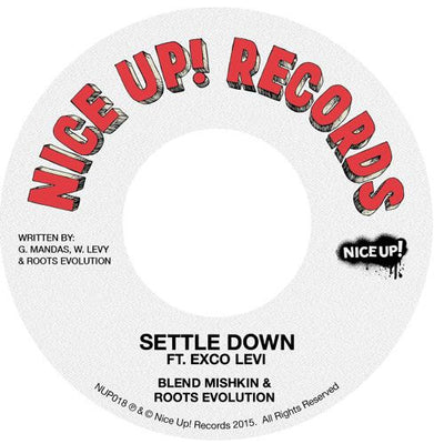 Blend Mishkin & Roots Evolution - Settle Down (ft. Exco Levi) - Unearthed Sounds, Vinyl, Record Store, Vinyl Records