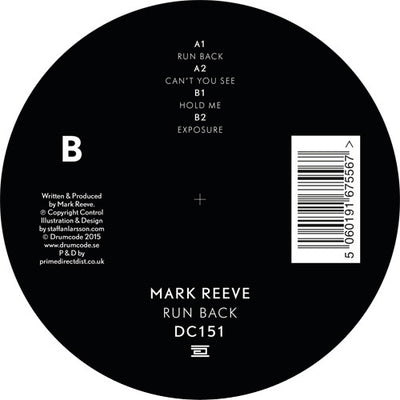 Mark Reeve - Run Back - Unearthed Sounds