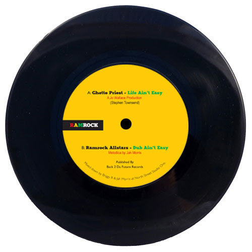 "Ghetto Priest / Ramrock All Stars - Life Aint Easy (7"") , Vinyl - Ramrock, Unearthed Sounds"