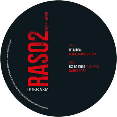 "Dubkasm - Rastrumentals Remixes Part 1 [10"" Vinyl]"
