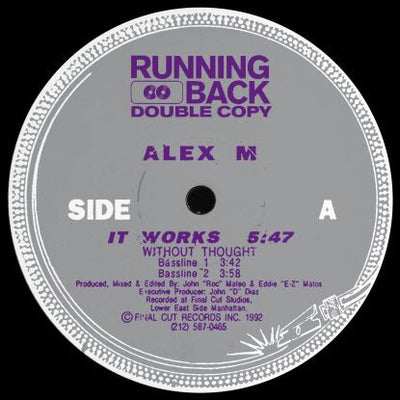 Alex M - It Works Ep - Unearthed Sounds