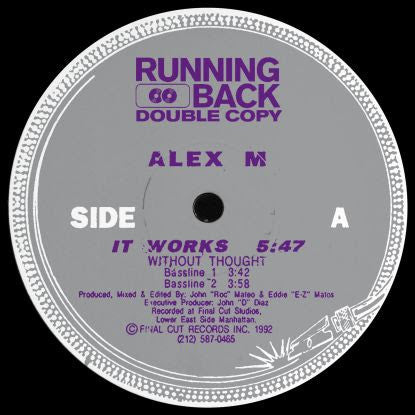 Alex M - It Works Ep