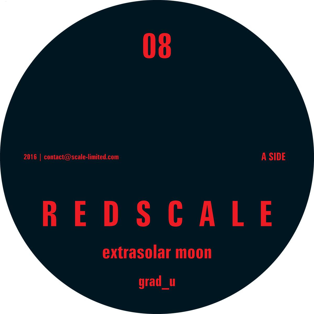 Grad_U - Redscale 08 [Red & Black Marbled Vinyl] , Vinyl - Redscale, Unearthed Sounds