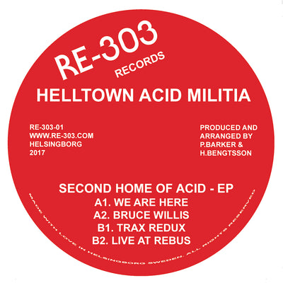 Helltown Acid Militia - Second Home of Acid EP - Unearthed Sounds
