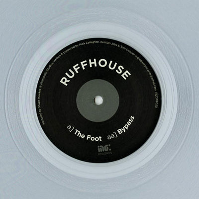 Ruffhouse - The Foot / Bypass [Clear Vinyl Repress] - Unearthed Sounds, Vinyl, Record Store, Vinyl Records