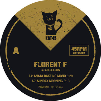 Florent F - Japanese Edits - Unearthed Sounds