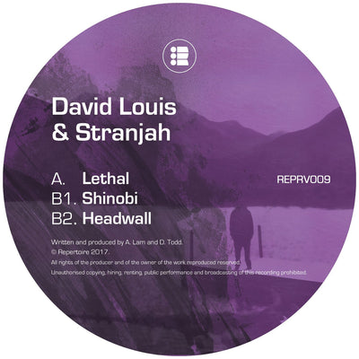 David Louis & Stranjah - Lethal EP , Vinyl - Repertoire, Unearthed Sounds