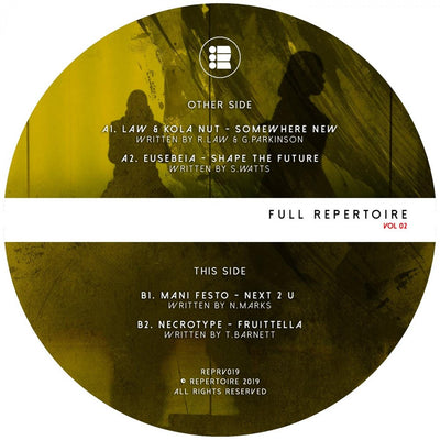 Various Artists - Full Repertoire Vol. 2 - Unearthed Sounds