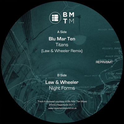 Blu Mar Ten - Titans (Law & Wheeler Remix)