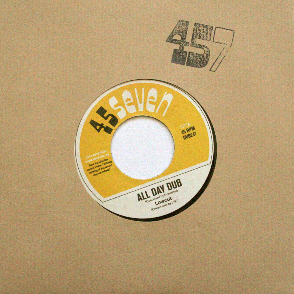 Lowcut - All Day Dub / 3Four - Unearthed Sounds