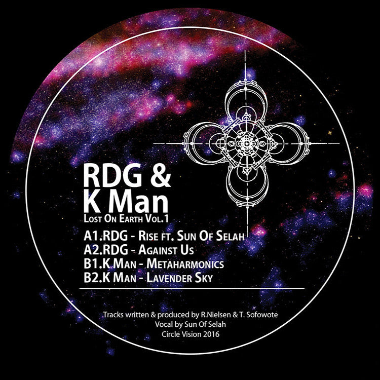 RDG / K Man - Lost On Earth, Vol. 1 - Unearthed Sounds