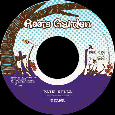 "Tiawa & Manasseh - Pain Killa [7"" Vinyl] - Unearthed Sounds"
