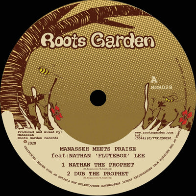 "Manaseh Meets Praise ft Nathan 'Flutebox' Lee [12"" Vinyl] - Unearthed Sounds"