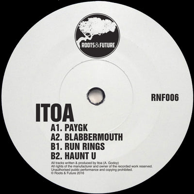 Itoa - RNF006 - Unearthed Sounds