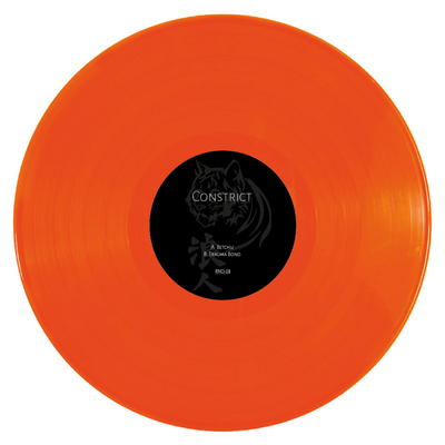 "Constrict - Betchu / Trauma Bond [Orange 12"" Vinyl] - Unearthed Sounds"