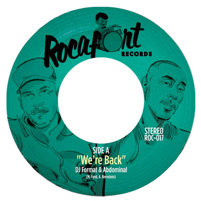DJ Format & Abdominal - We're Back b/w Diamond Hammer - Unearthed Sounds, Vinyl, Record Store, Vinyl Records