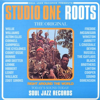 Various Artists - Soul Jazz Records presents 'Studio One Roots' 20th Anniversary Edition [2 x Blue Vinyl LP]
