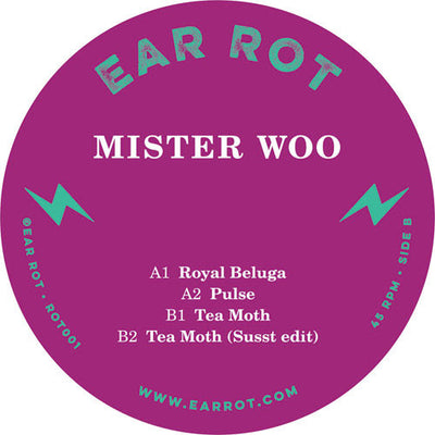 Mister Woo - Royal Beluga , Vinyl - Ear Rot, Unearthed Sounds