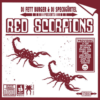 DJ Fett Burger & DJ Speckguertel - Red Scorpions [2xLP w/ Download]