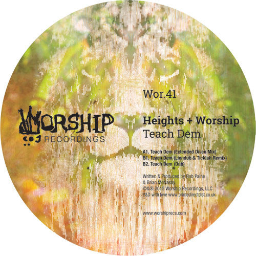 Heights & Worship - Teach Dem - Unearthed Sounds