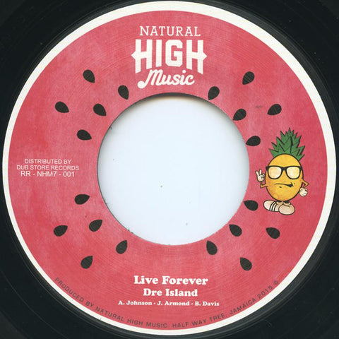 Dre Island – Live Forever / Dub
