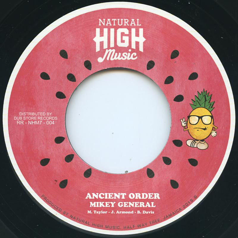 Mikey General – Ancient Order , Vinyl - Natural High Music, Unearthed Sounds