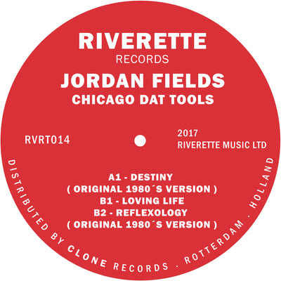 Jordan Fields - Chicago Dat Tools - Unearthed Sounds