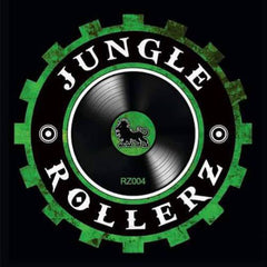 Ilk / Keezee / Necrotype - Rollerz Vol 4 , Vinyl - Jungle Rollerz Records, Unearthed Sounds - 2