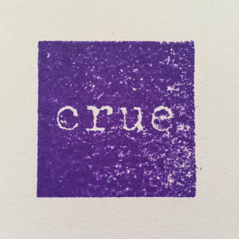 "CRUE - CRUE [Ltd Handstamped Coloured 10""]"