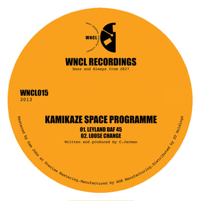 Kamikaze Space Programme ‎– Leyland DAF 45 - Unearthed Sounds