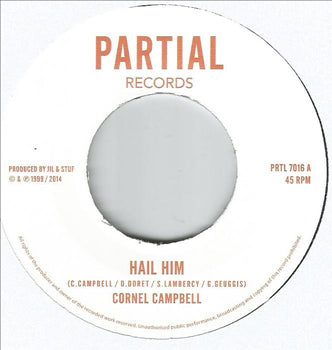Cornell Campbell / Restless Mashaits - Hail Him / King Dub