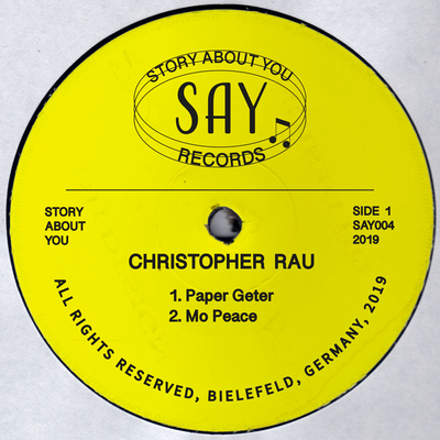 Christopher Rau & Pearla - SAY004 - Unearthed Sounds, Vinyl, Record Store, Vinyl Records