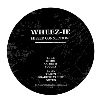 Wheez-ie - Missed Connections [Plain Sleeve Repress] - Unearthed Sounds, Vinyl, Record Store, Vinyl Records