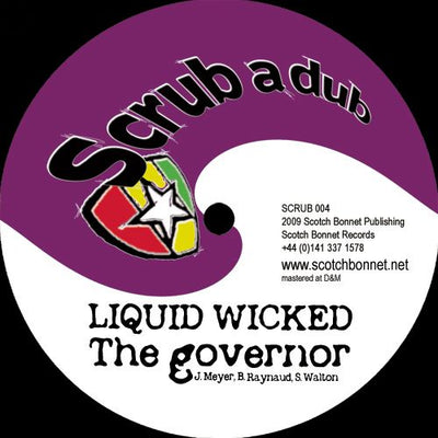 Liquid Wicked / Twisted ‎- The Governor / The Superpowers