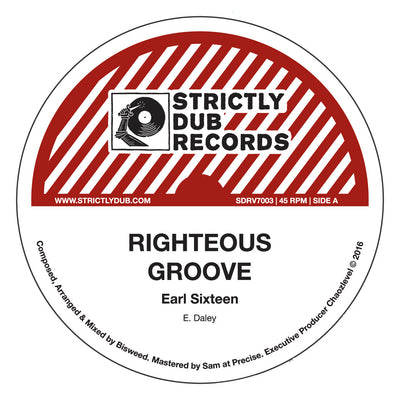 Earl 16 - Righteous Groove / Bisweed & Chaozlevel - Righteous Melodica - Unearthed Sounds