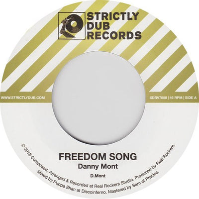 Danny Mont ‎– Freedom Song - Unearthed Sounds