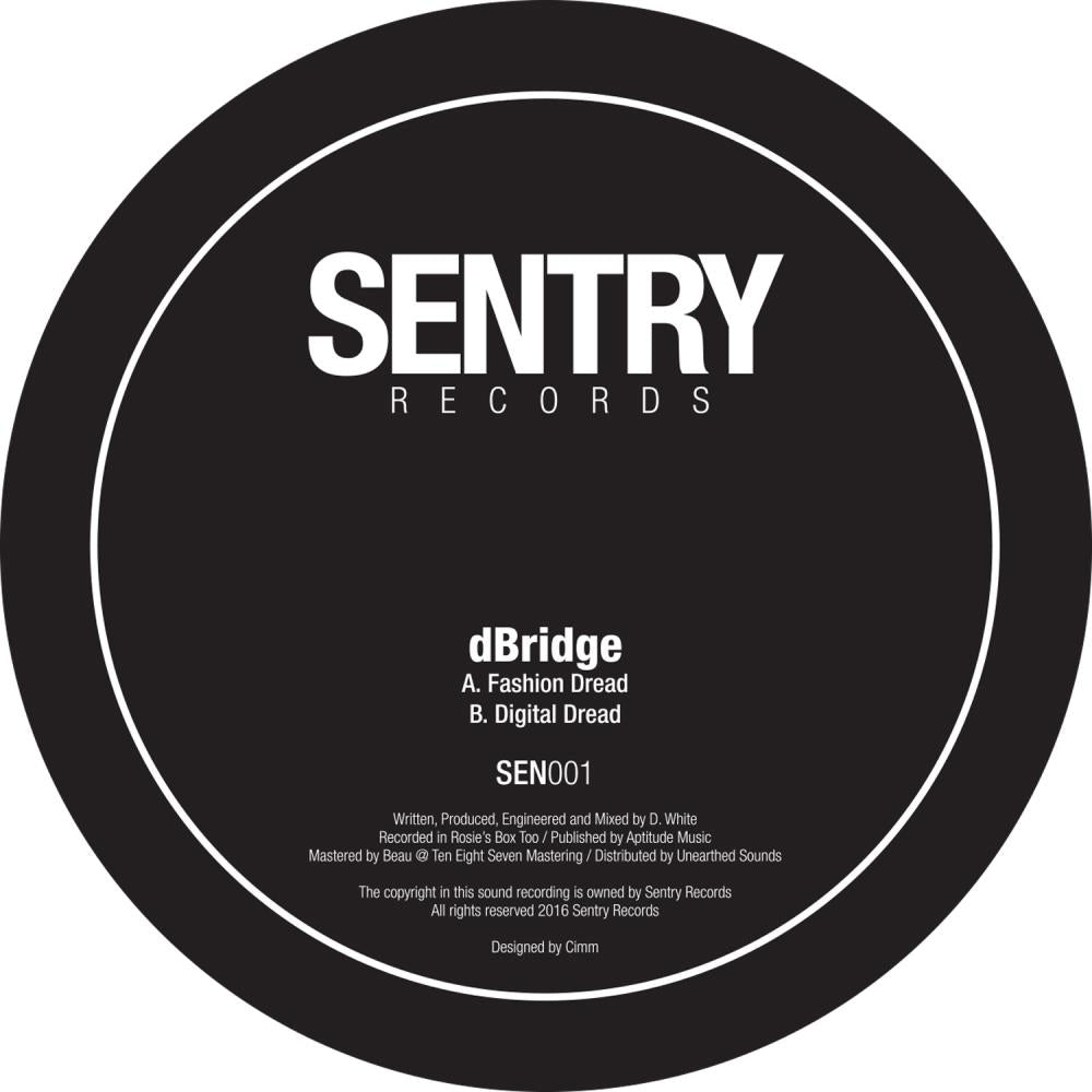 dBridge - Fashion Dread / Digital Dread (2018 Repress)