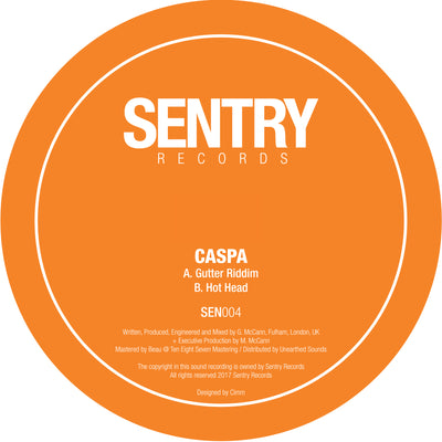 Caspa - Gutter Riddim / Hot Head
