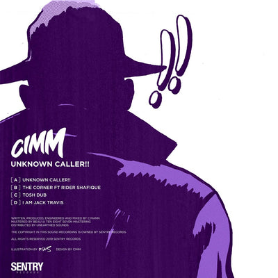 "Cimm - Unknown Caller!! EP [2x12""] - Unearthed Sounds, Vinyl, Record Store, Vinyl Records"