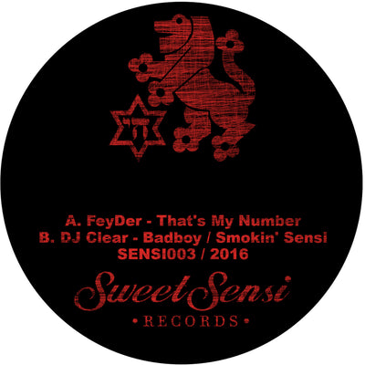FeyDer / DJ Clear - Sweet Sensi Records 003 - Unearthed Sounds
