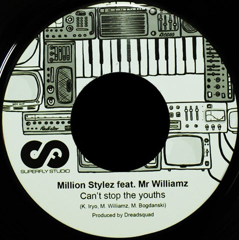 "Dreadquad ft. Million Stylez & Mr Williamz / Charlie P - Cant Stop The Youths / That Is Life [7"" Vinyl]"
