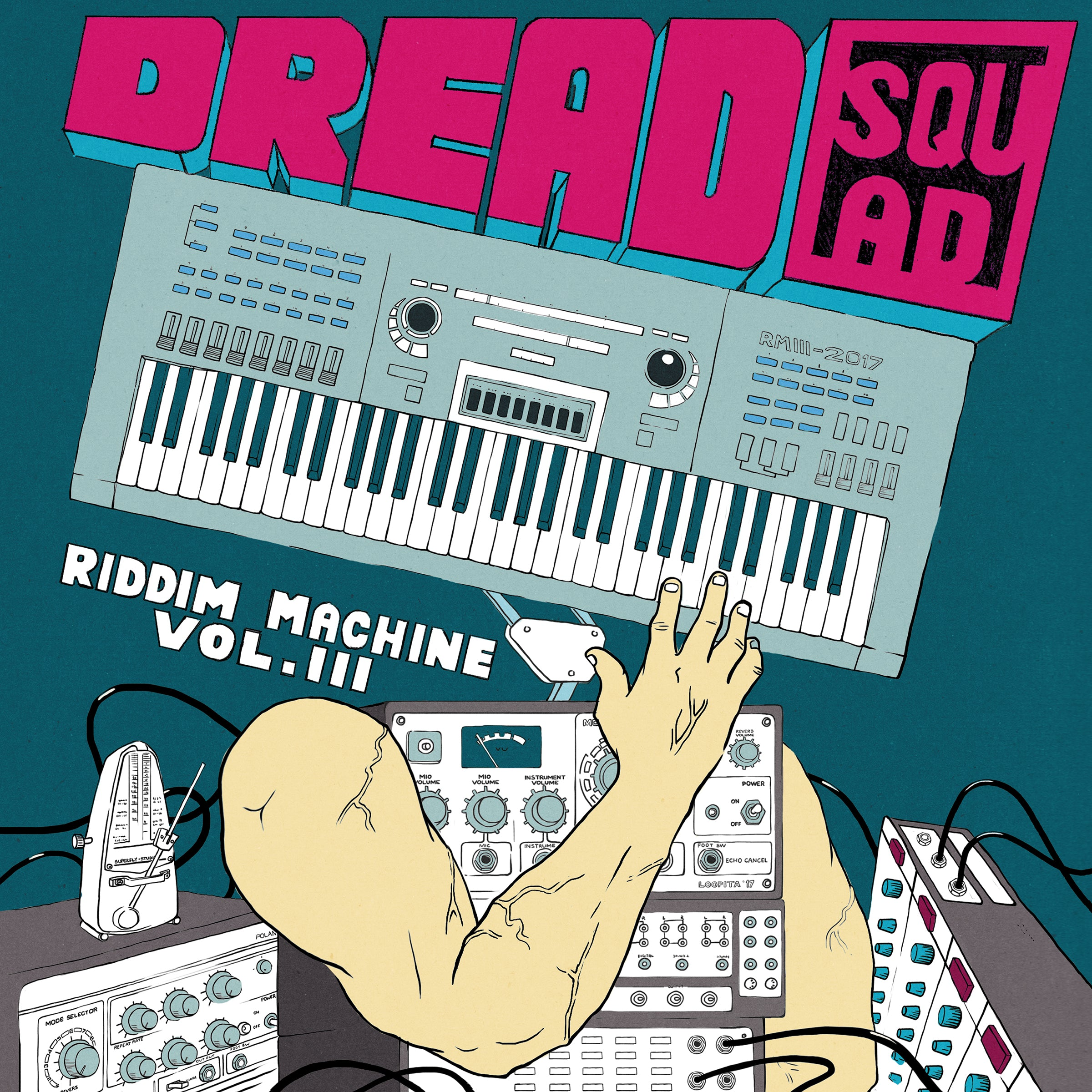 Dreadsquad - Riddim Machine, Vol. 3 (REPRESS)