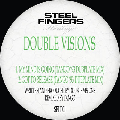 Double Visions - My Mind Is Going / Got To Release (Tango '93 Dubplate Mixes) - Unearthed Sounds