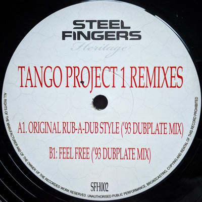Tango - Tango Project 1 Remixes - Unearthed Sounds