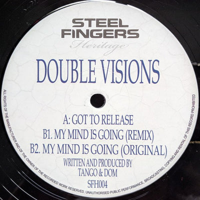 Tango & Dom -  Double Visions - Unearthed Sounds