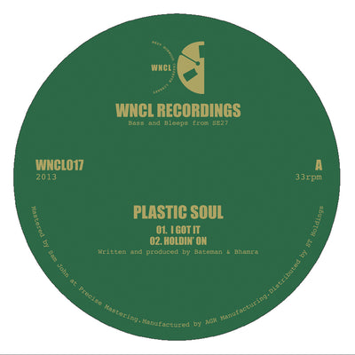 Plastic Soul ‎– I Got It - Unearthed Sounds
