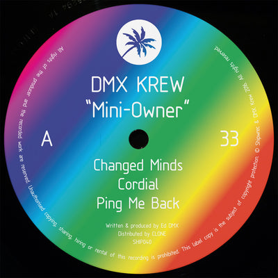 DMX Krew - Mini-Owner [Repress] - Unearthed Sounds